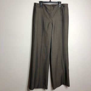New York & Company Brown Dress Pant Size 10